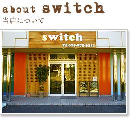 about switch 当店について